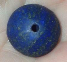18mm Antique Persian Lapis Lazuli Bead, #S2666