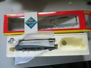 Boxed OO Scale Hornby R2246 Class A4 Quicksilver Locomotive NO TENDER