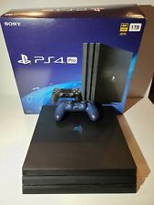 Sony PlayStation 4 Pro 1TB Black Console PS4 Pro - gently used