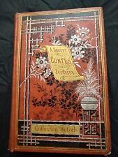ALPHONSE DAUDET - CONTES POUR LA JEUNESSE - Collection HERZEL - Vers 1886