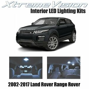 XtremeVision LED for Land Rover Range Rover 2002-2017 (15 Pieces) Cool White Pre