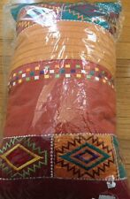 Vintage Tribal Embroidered Decorative Pillow