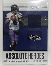 🔥2020 Absolute Lamar Jackson - Absolute Heros Patch & #'d 99 /99