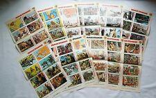 BD - Lot 39 Supplement Spirou Fiches Documentation Peuples Etranges / 1972 /RARE
