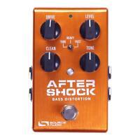 Source Audio Aftershock Bass Distortion / Fuzz Guitar Effect Pedal - Brand New!