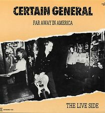 """CERTAIN GENERAL / BAND OF OUTSIDERS """"FAR AWAY IN AMERICA"""" ORIG FR 1985"""