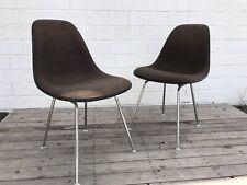 Original 60er Charles Eames Fiberglas Sidechair H Base Hermann Miller Hopsack