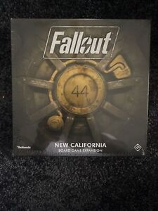 NEW Fallout - The Board Game - New California Expansion