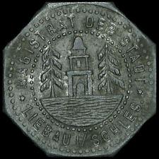 NOTGELD: 10 Pfennig. Funck 296.4. STADT LIEBAU / SCHLESIEN ⇒ LUBAWKA.