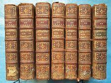 CLEMENCET : HISTOIRE GENERALE DE PORT-ROYAL, 1755/1757. 7 vol. (sur 10).