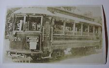 USA525 GRAND RAPIDS RAILROAD Railway Co - TROLLEY No278 PHOTO Michigan USA