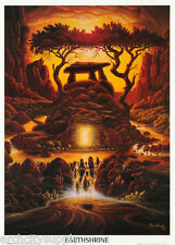 POSTER :ART: EARTHSHRINE BY ANDREW FORREST -  FREE SHIPPING !   #SM0007   LW23 F