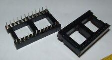 100 Augat 24 pin IC sockets 224-AG29D socket DIP