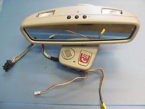 2000-01-02-03-2006 MERCEDES-BENZ W220 S430 S500 REAR VIEW MIRROR 2208110007 GREY
