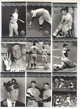 19 Card Set  1996 Topps Stadium Club Mickey Mantle Yankees NR MT  MM1 thru MM19