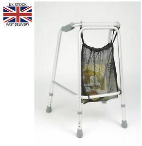 UK Seller Shopping Net bag for Walking Zimmer Frame Rollator Walker Wheelchair