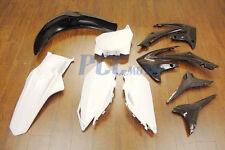 HONDA BLACK PLASTIC KIT FOR CRF250R CRF450R 9PCS P PS67