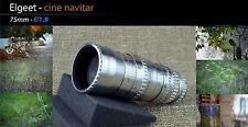 Elgeet 75mm 1.9 FOR Cine Black Magic Design Pocket Camera Mount BMPCC M4/3 Kern