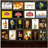 Stella Artois Retro Beer Tin Sign Metal Poster Plaque Pub Bar Home Decor