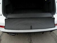 Kofferraummatte für Alfa Romeo Stelvio + Ladekantenschutz Gummi - Laderaummatte