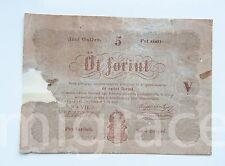 HUNGARY 5 forint 1848