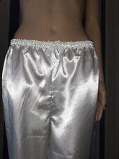 Satin,Lace,Long ,Bloomers,Victorian look Waist 28-46 Ladies,Sissy,Lolita