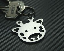 GIRAFFE Tall African Animal Cute Toy Savannah Keyring Keychain Key Fob Gift