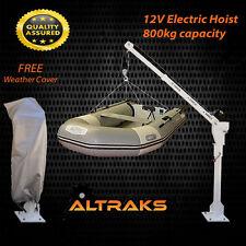 DAVIT CRANE 12V ELECTRIC TENDER LIFT - HOIST BOAT CRUISER