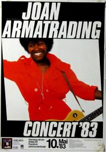ARMATRADING, JOAN - 1983 - Konzertplakat - Concert - Tourposter - Frankfurt
