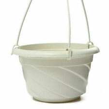 US Hanging Flower Plant Pot Basket Planter Holder Balcony Garden Decorative