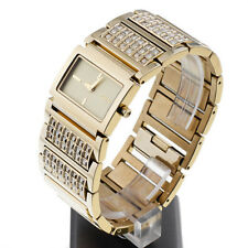 DKNY watch NY4546 Gold Bracelet Glitz with Crystals Women's