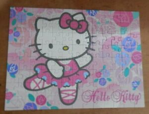 RAVENSBURGER 100 PIECE PUZZLE - HELLO KITTY -  AGES 6+ Complete VGC