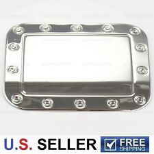 2005-2010 Chrysler 300/C Chrome Stainless Steel GAS TANK FUEL Door Cover Trims