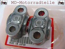 Honda CB 750 Four K0 - K6 K7  Klemmschellen Set für Vorderachse  95014-41000