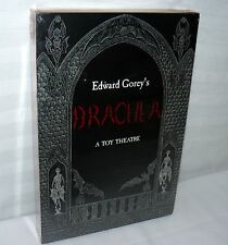 Edward Gorey's Dracula by Edward Gorey 2002 Toy Theatre