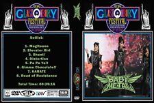 BABYMETAL 2019 Glastonbury Festival UK DVD