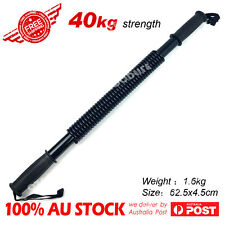 40 Kg Power Twister Flexible Stretch Spring Bendy Bar Arm Gym AU stock