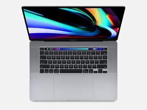"""Apple MacBook Pro 15"""" Retina 2020 2,6GHz i7 16GB 256GB Pro 555X TouchBar US"""
