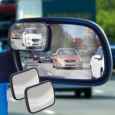 2 Blind Spot Mirrors Adjustable Car Van Blindspot Towing Reversing Driving
