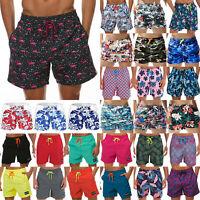 Men's Swimwear Boxer Briefs Beach Summer Shorts Holiday Hawaii Swim Trunks Pants