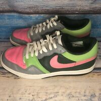 Nike Court Force Low 313561-361 Size 8.5 Multicolor Leather Sneakers Mens Shoes