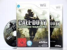 CALL OF DUTY - MODERN WARFARE - REFLEX EDITION  (USK 18)  ~Nintendo Wii Spiel~