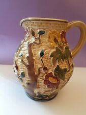 Indian Tree Handpainted  Jug by  HJ WOOD Staffordshire No 585