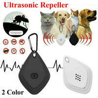 Mini Ultrasonic Anti Mosquito Insect Pest Bugs Repellent Repeller for pet dog US