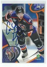 Cam Fergus Signed 2004/05 Gatineau Olympiques Team Issued Card