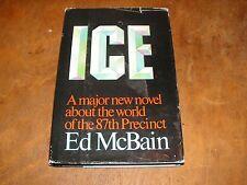 Ice  by Ed McBain (1983, Hardcover) BCE  87th Precinct series