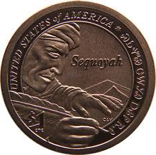 2017-S $1 225th Anniversary Enhanced Unc Sacagawea Sequoyah Native American $1