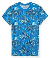 Aeropostale Men's Leaves and Flowers Tee Shirt