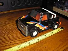 """Vintage 1/43 ? 5"""" long Buddy L Step Side Chevy Ford Pickup Truck with a roll bar"""