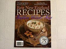 Yankee New England's Magazine Best New England Recipes Cookbook 75th Anniversary